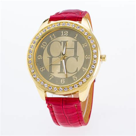 Brand Chhc Genuine Leather Watch For Women Fashion Dress. Gold Plated Bracelet. Birthstone Jewelry. Double Diamond Stud Earrings. Saxon Watches. Baguette Diamond Ring Band. Cinderella Rings. Designs Bangles. Thin Wedding Rings