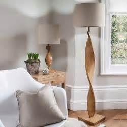 Living Room with Floor Lamp