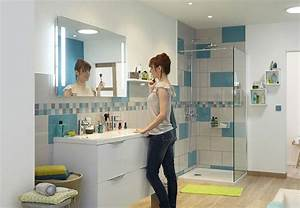 Salle De Bain Le Roy Merlin : osez la salle de bains leroy merlin femme actuelle ~ Premium-room.com Idées de Décoration