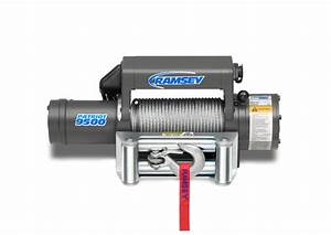 Patriot 9500 R 12v With Wire Pendant  U2013 Ramsey Winch