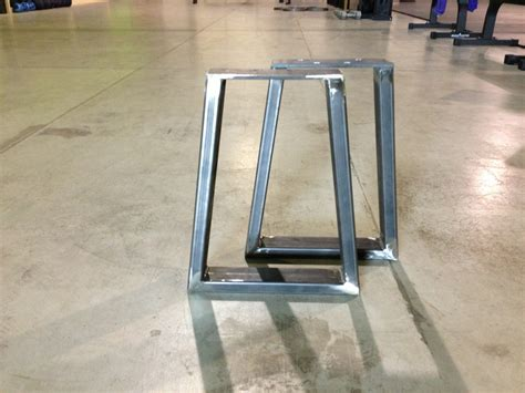 kitchen island legs metal steel bench supports modern legs