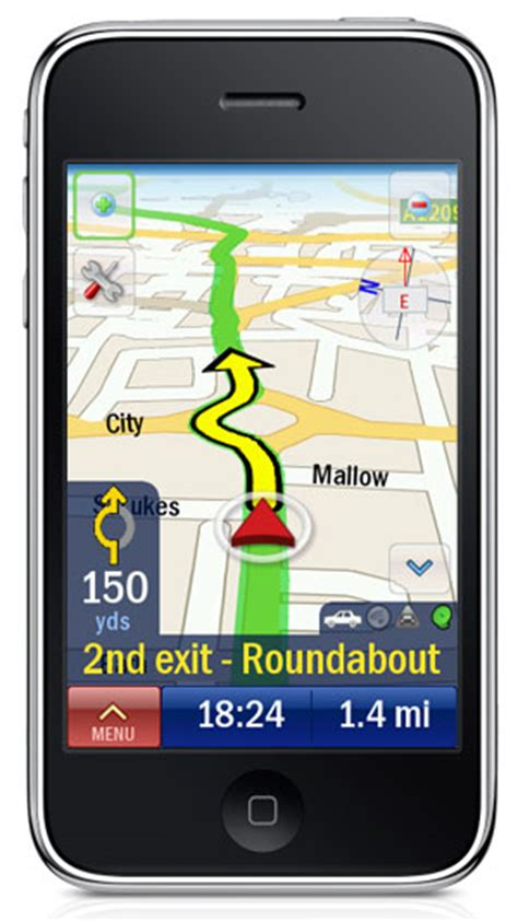 gps app for iphone copilot gps live navigation app comes to the iphone