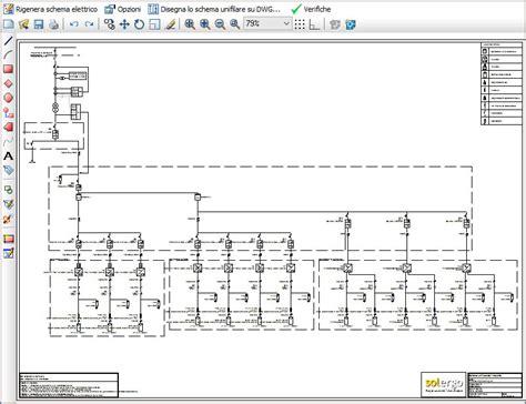 schema elettrico unifilare impianto fotovoltaico