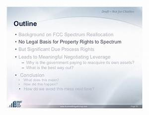 Broadcasting Licenses: Ownership Rights and the Spectrum ...