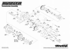 Traxxas Revo 3 3 Parts Diagram