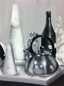 Black and White Still Life Painting by samiiRAWR on DeviantArt
