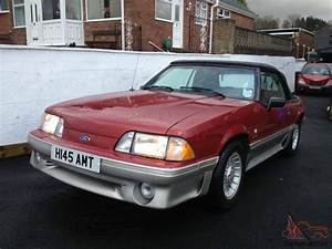 1990 FORD MUSTANG 5.0 GT Convertible