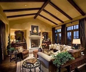 Amazing of best luxury rustic house interior decor in rus for Interior design ideas rustic look