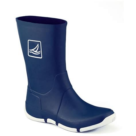 Fishing Boat Rubber Boots by Sperry Figawi Rubber Boots Navy 112343 Boat Water