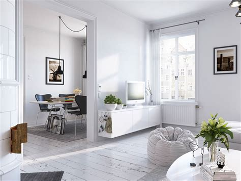 scandinavian home decor bright scandinavian decor in 3 small one bedroom apartments
