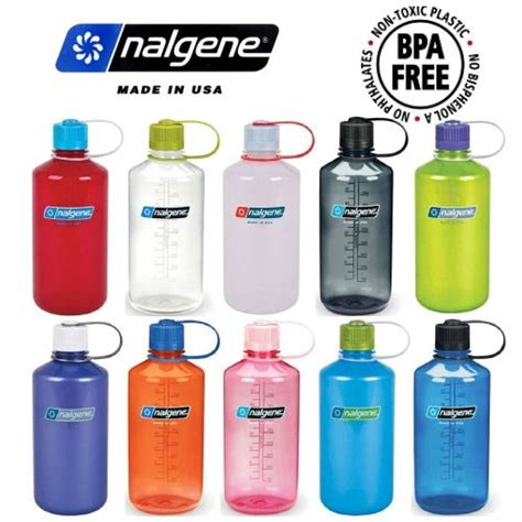 Custom Nalgene Tritan Narrow Mouth Water Bottles | Custom ...