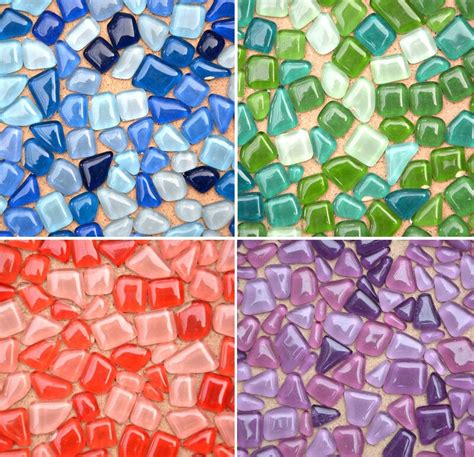 diy mosaic tiles for craft 250g colorful mosaic