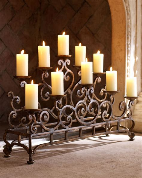 candle holder for inside fireplace horchow ambella fireplace candelabrum for the home pinterest
