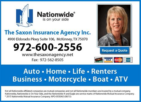 nationwide claims phone number the saxon ins agency inc nationwide