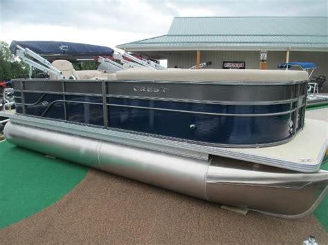 Pontoon Boats For Sale Greenville Mi by Crest Pontoon New And Used Boats For Sale