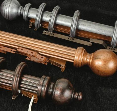 medium curtain rods 1 to 2 inch curtain rods