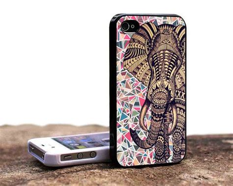 iphone 5s cases etsy aztec elephant iphone 5s and iphone 5c by omgcovers
