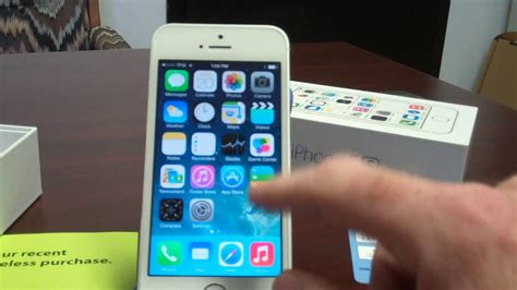 iphone 5s straight talk walmart straight talk iphone 5s unboxing and initial setup youtube Iphon