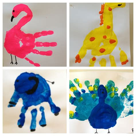 zoo animals teaching zoos and animal 252 | 54051052ab65aeb095a985205f49d3b6 hand print animals jungle crafts