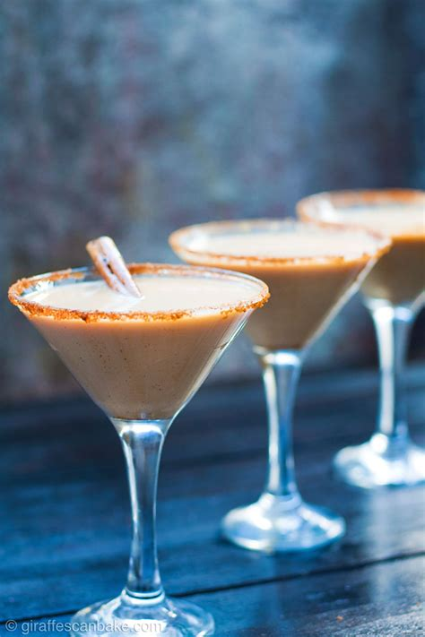 Baileys Pumpkin Spice Espresso Martini Cocktail  Giraffes Can Bake