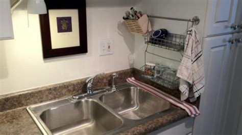 diy vertical dish drainer  small spaces fooyoh