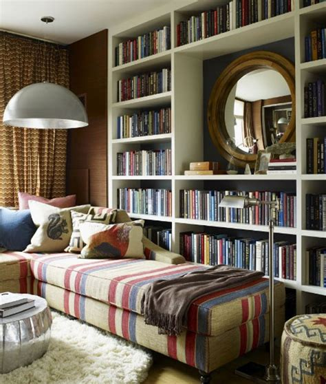 Couch Chaise Combo by 40 Home Library Design Ideas For A Remarkable Interior