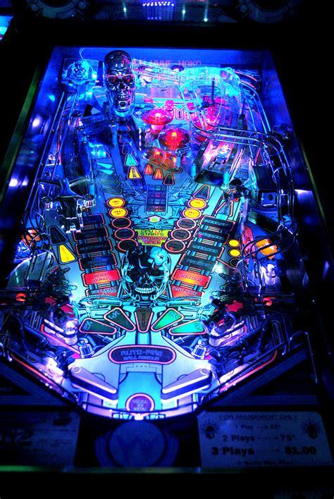 high quality terminator 2 pinball ultimate led lighting