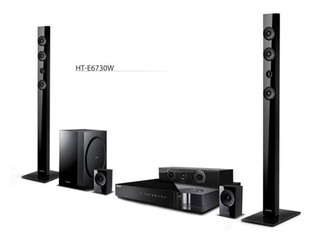 Samsung's Blu-ray Home Theater Systems Get Tubes, Cloud