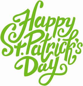 Happy St Patrick's Day PNG Clip Art Image   Gallery ...