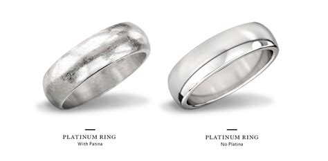 care for platinum ring bands