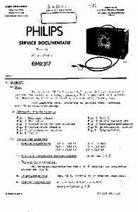 Philips Gm2317  Service Manual  Repair Schematics