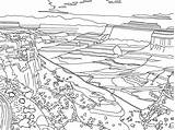 Coloring National Park Mountain Drawing Range Google Canyonlands Canyon Pages Salvo Drawings Template Sketch sketch template