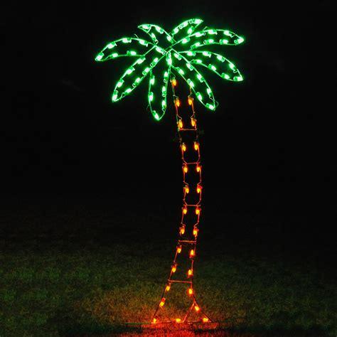 palm tree outdoor lights
