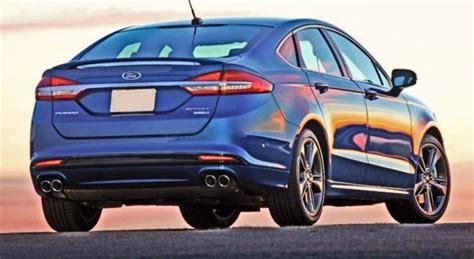 2020 Ford Fusion Redesign by 2020 Ford Fusion Will Not Suffer Redesign Ford Tips