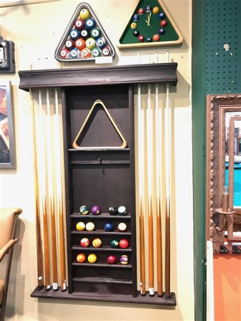 imperial deluxe wood wall cue rack  finishes