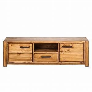 Tv Regal Holz : lowboard pinie massivholz fernsehtisch sideboard tv rack regal schrank holz neu ebay ~ Indierocktalk.com Haus und Dekorationen