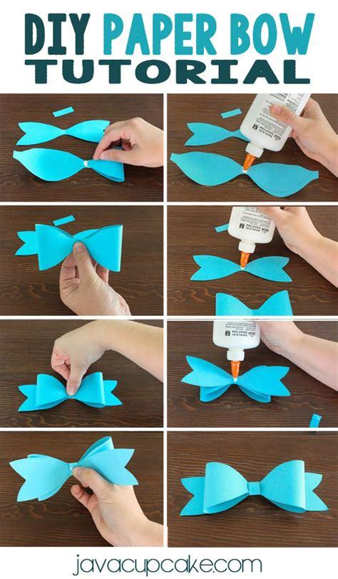 diy paper bows  images paper bows tutorial paper