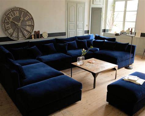 emejing decoration salon bleu marine contemporary