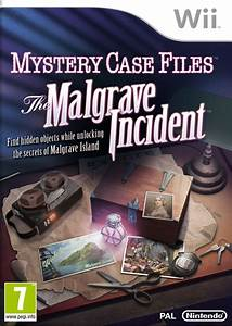 Mystery Case Files The Malgrave Incident Wii Games
