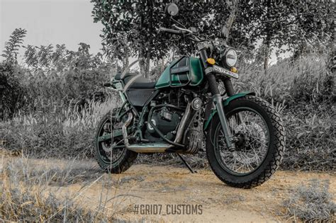 Modification Royal Enfield Himalayan by Modified Royal Enfield Himalayan By Grid7 Customs