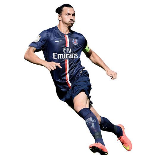 Zlatan Ibrahimovic football render - 10599 - FootyRenders