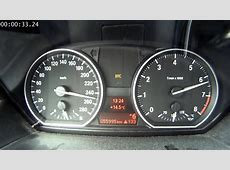 BMW 135i timed 0Max Speedo on the Autobahn YouTube