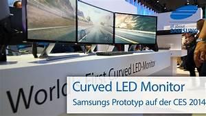 Pc Monitor Auf Rechnung : samsung curved pc monitor auf der ces 2014 youtube ~ Haus.voiturepedia.club Haus und Dekorationen