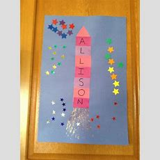 Pin By Ishani Ticinelli On At Home Play  Space Crafts, Space Preschool, Easy Preschool Crafts