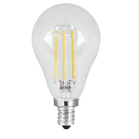 led light daylight feit electric 40w equivalent daylight a15 dimmable clear