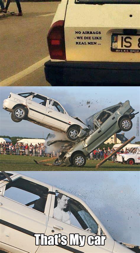 Car Accident Memes - overly manly car crash by shimon trabelsi 7 meme center