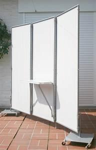 steckbarer klapptisch indoor outdoor mobiler With französischer balkon mit sichtschutz paravent garten