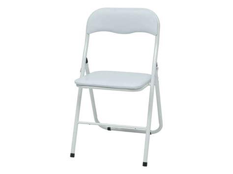 conforama chaise de jardin chaise pliante breva coloris blanc vente de table et