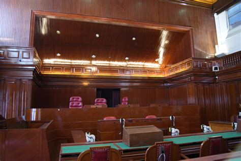 Filecourt Of Appeal Courtroom, Old Supreme Court Building