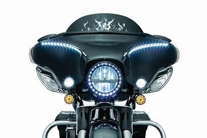 Kuryakyn Fairing Driving Trim Lights Harley Mirrors